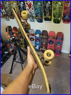 Vintage per welinder v1 Freestyle Skateboard Indy trucks v-iv freestyle wheels
