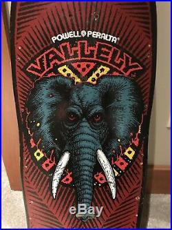 Vintage powell peralta Mike Vallely skateboard Deck OG Tony Hawk Santa Cruz Alva