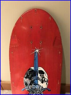 Vintage powell peralta Skull And Sword skateboard OG Tony Hawk Mike McGill