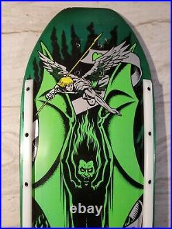 Vintage santa cruz skateboard deck
