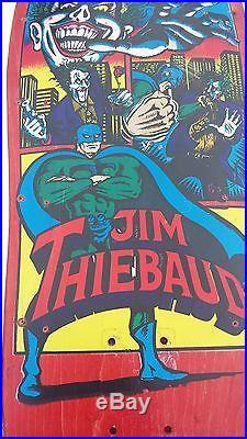 Vintage skateboard 1989 SMA Jim Thiebaud rare Joker version