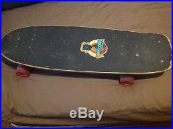 Vintage skateboard G&S Doug Saladino 1979 pine design OG independent kryptonics