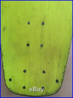 Vintage skateboard OG 1978-79 KANOA Lonny Hiramoto tri-beam 9.5