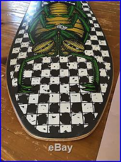 Vintage skateboard OG 1987 Powell peralta BUG team deck xt version