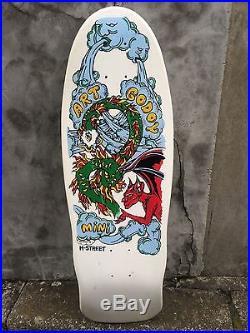 Vintage skateboard OG H STREET 1988 Art Godoy very rare