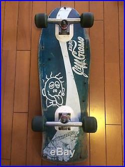 Vintage skateboard OG Santa cruz 1988 Jeff Grosso Coke