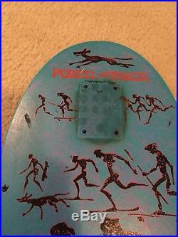 Vintage skateboard Powell Peralta Lance Mountsin MINI deck bonite 1987 Og