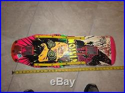 Vintage skateboard Vision Psycho stick  oldschool natas sims