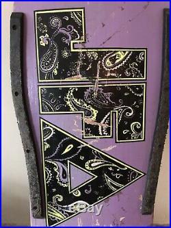 Vintage skateboard deck JFA Punk Band Original 1980s