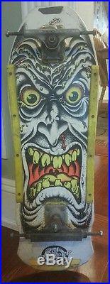 Vintage skateboard deck Rob Roskopp Santa Cruz orginal 1980s face old school