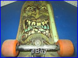 Vintage skateboard deck Rob Roskopp Santa Cruz orginal 1980s super 3 old school