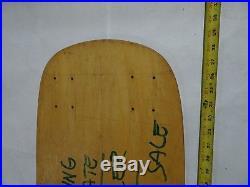 Vintage skateboard deck Sims 8 wheeler deck oldschool dogtown powell natas