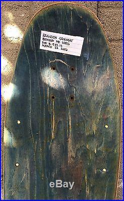 Vintage skateboard decks Mark Gonzales Blind and Chris Miller Planet Earth