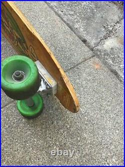 Vintage skateboard dogtown Jim Muir oldschool.  Sims z dogtown rare acs