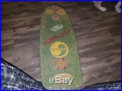Vintage skateboard santa cruz Duane Peters Bone Independent