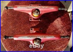 Vintage skateboard trucks Independent Stage V 169 black anodized 80's Ultra Rare