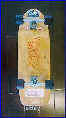 Vintage skateboard with Independent Stage 3 169 trucks