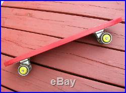 Vintage wooden FLI BACK skate racer sidewalk surfboard skateboard clean skater