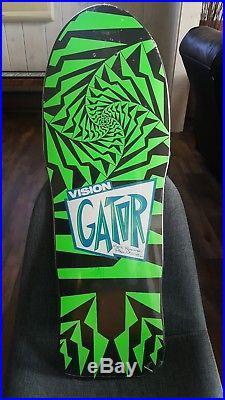 Vision Gator Mark Rogowski Pro Model Skateboard, Rare