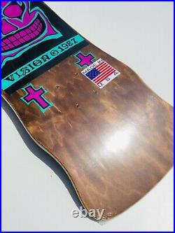 Vision John Grigley Skateboard Deck Old School Vintage Reissue Made In USA