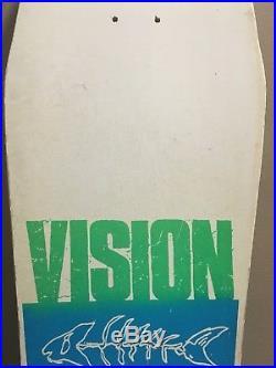 Vision Lobster Fantail skateboard Deck 80s Vintage Retro New Never Used