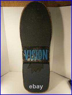 Vision Mark Gator OG Pro Deck 80's Vintage Skateboard Independent Trucks RARE