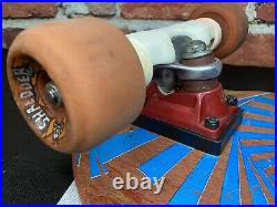 Vision Mark Gator Rogowski OG 1980s Vintage Skateboard Deck Complete Old School