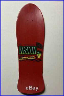 Vision Mark Gonzales Skateboard Original NOS 1986 Krooked Real Deal