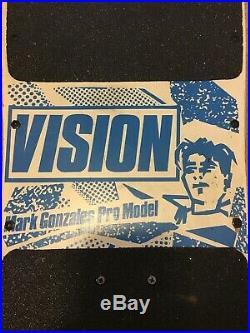 Vision Mark Gonzales Vintage Skateboard Original Amazing Condition