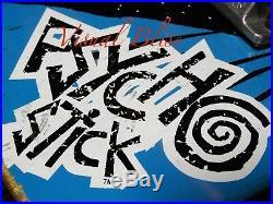 Vision Skateboards 1986 Psycho Stick Vintage Complete Skateboard Peralta Rat Ind