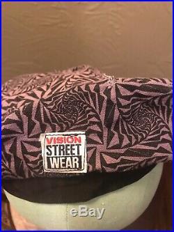 Vision Street Wear Beret Hat 1980s Gator Vintage Skateboarding