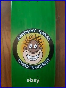 World industries Napping Negro Jovontae Turner Reissue Skateboard New