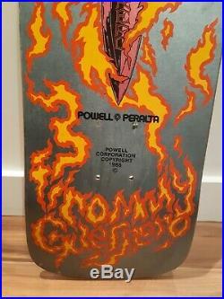 Wow! Nos 1986 Tommy Guerrero Powell Peralta Xt Skateboard Deck Not A Reissue