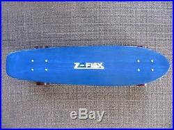 Z-FLEX Jay Adams skateboard with NOS Tunnel Rock wheels