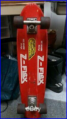 Z Flex Jay Adams skateboard vintage og dogtown zflex rare tracker complete