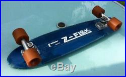 Z flex Jay Adams model 1970s skateboard rare early molded grip deck only