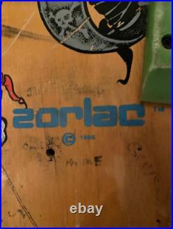 Zorlac Model Metallica Pushead NOS 1986